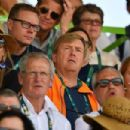 Queen Maxima and King Willem Alexander- Equestrian - Olympics: Day 12 - 454 x 303