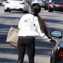 Vanessa Hudgens spotted leaving yoga class in Studio City March 25, 2017