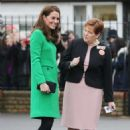 Kate Middleton – Visits Lavender Primary School in London - 454 x 674