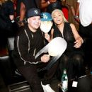 Blac Chyna and Rob Karashian at Blac Chyna's Chymoji App Launch Party at The Hard Rock Cafe in Los Angeles, California - May 10, 2016 - 454 x 519