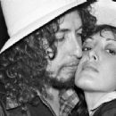 Bob Dylan and Ronee Blakelybackstage at The Roxye circa 1976 in Los Angeles, California - 454 x 343