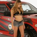 Keeley Hazell - Launches New Playstation 3 Game MotorStorm Pacific Rift In London, 06.11.2008.