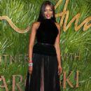Naomi Campbell–2017 Fashion Awards in London - 454 x 681