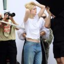 Elle Fanning – Photoshoot in New York City