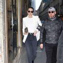Gigi Hadid – Out in Paris