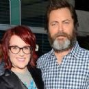 Megan Mullally and Nick Offerman - 454 x 286