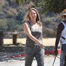 Alicia Silverstone – Out on a hike with her dogs in Los Angeles - 454 x 686