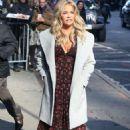 Denise Richards – Arrives at Good Morning America in New York City - 454 x 662