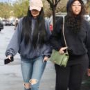 Kylie Jenner spotted goin to The Commons Sephora in Calabasas, CA January 7,2017