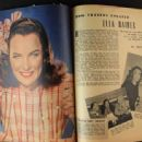 Ella Raines - Movieland Magazine Pictorial [United States] (April 1944) - 454 x 338