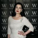Dita Von Teese - Signs Copies Of Her Book At Waterstone's Picadilly In London, 22.11.2007.