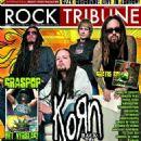 Ray Luzier, Fieldy, Jonathan Davis - Rock Tribune Magazine Cover [Netherlands] (August 2010)