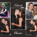 Chester Bennington and Talinda Bentley