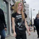 Avril Lavigne - Leaving Studios in London, 15.02.2011.