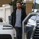 Scott Disick is spotted out shopping at Barneys New York in Beverly Hills, California on December 5, 2015