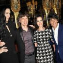L'Wren Scott and Mick Jagger host private dinner at the Cafe Royal Hotel to celebrate the L'Wren Scott Fall/Winter 2013 Collection - London, UK - 17 February 2013 - 454 x 681