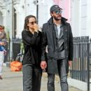 Daisy Ridley and Tom Bateman – Out in Primrose Hill - 454 x 621