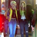 Cara Delevingne and Ashley Benson – Leaves Lucky Strike in New York - 454 x 625