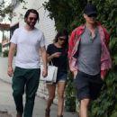 Rachel Bilson and Hayden Christensen out for a stroll in Studio City, California (July 12)
