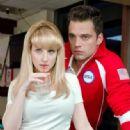 Melissa Rauch and Sebastian Stan