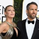 Ryan Reynolds and Blake Lively : 74th Annual Golden Globe Awards - 454 x 312