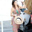 Alessandra Ambrosio – Out in Brentwood 8/29/2016