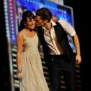 Lea Michele and Matthew Morrison