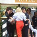 Chloe Moretz – Seen at Hotel Excelsior In Venice