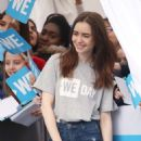 Lily Collins – WE Day 2018 London