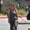 Alicia Silverstone – Out on a hike with her dogs in Los Angeles
