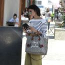 Vanessa Hudgens – Leaving Nine One Zero Salon in LA