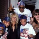 Motley Crue at the 1990 MTV Awards - 454 x 298
