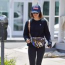 Lucy Hale – Shops for groceries in Studio City