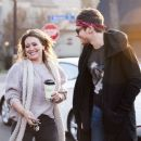Hilary Duff and Matthew Koma out for a coffee in Studio City - 454 x 388