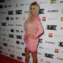 Katie Price – British LGBT Awards 2017 in London - 454 x 682