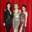 Selena Gomez, Ashley Benson and Vanessa Hudgens attend the 'Spring Breakers' Germany premiere at CineStar on February 19, 2013 in Berlin, Germany - 375 x 594