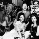 Ava Gardner and Mickey Rooney with Ann Rutherford