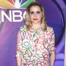 Mae Whitman – 2018 NBC NY Midseason Press Junket in NYC - 454 x 673