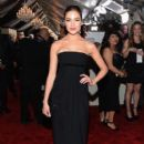 Olivia Culpo attends The 57th Annual GRAMMY Awards at the STAPLES Center on February 8, 2015 in Los Angeles, California