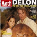 Alain Delon - Paris Match Magazine Cover [France] (September 2003)