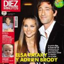 Elsa Pataky, Adrien Brody - Diez Minutos Magazine Cover [Spain] (1 November 2006)