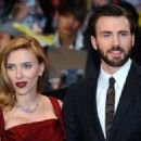 Scarlett Johansson and Chris Evans