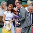 Geri Halliwell – Wimbledon Tennis Championships 2019 in London - 454 x 547