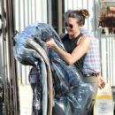Mandy Moore in Tights – Picks up her dry cleaning in LA - 454 x 511