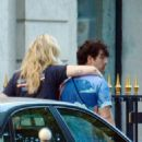 Sophie Turner and Joe Jonas – Out for lunch in Paris