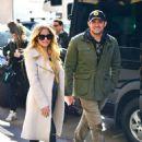 Avril Lavigne and Phillip Sarofim – Leaving SiriusXM Radio in New York City - 454 x 630