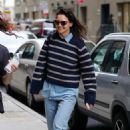 Katie Holmes – Heading to a meeting in New York