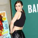 More Pictures of Lily Collins when signing Seventeen Magazine at Barnes and Nobles