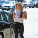 Hilary Duff Spotted Out In Los Angeles