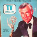 Johnny Carson - Sunday Herald Traveler TV Magazine Cover [United States] (14 May 1972)